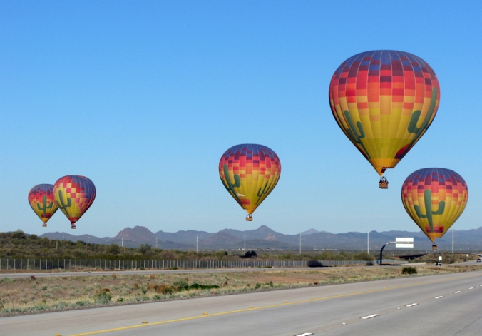 Arizona Hot Air Balloons<br />  © 2014 Vanity All is Vanity