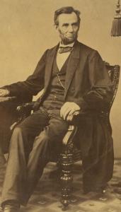 Abraham Lincoln on November 8, 1863
